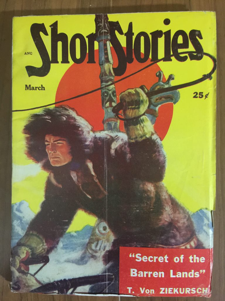 1951 Mar issue of Short Stories, all reprints, no original fiction